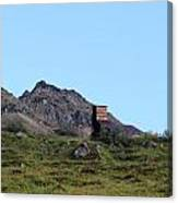 Hatcher Pass Mine Canvas Print