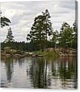 Haukkajarvi Panorama Canvas Print