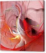 Haunted Hearts Canvas Print