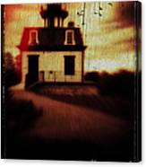 Haunted Lighthouse Canvas Print