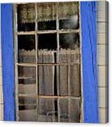 Haunted Window Canvas Print