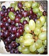 Have Some Grapes Canvas Print