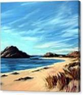 Havik Beach Canvas Print