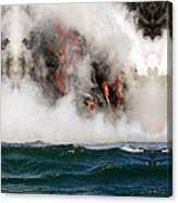 Hawaii Lavaflow 1 Canvas Print