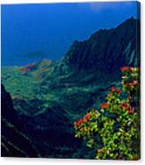 Hawaiian Cliffs Canvas Print