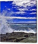 Hawaiian Surf Canvas Print