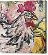 Hawk Canvas Print