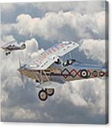 Hawker Demon Canvas Print