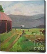 Hay Day Farm Canvas Print