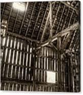 Hay Loft Canvas Print