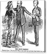 Hayes & White League, 1880 Canvas Print