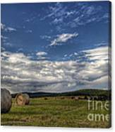 Haymaking Time Canvas Print