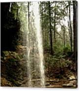 Hcking Hills Waterfall Canvas Print