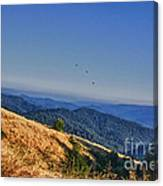 hd 377 hdr - Grasslands Canvas Print