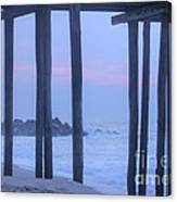 Hdr Beach Pier Ocean Beaches Art Photos Pictures Buy Sell Selling New Pics Sea Seaview Scenic   Canvas Print