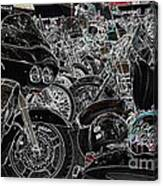 Head Peace Canvas Print