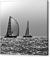Heading Home Solent Canvas Print