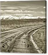 Heading West 2 Canvas Print