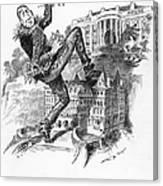 Hearst Cartoon Canvas Print