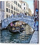 Heart In Venice Canvas Print