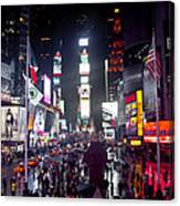 Heart Of Times Square Canvas Print