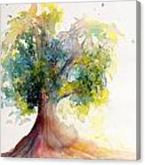 Heart Tree Canvas Print