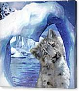 Heart Warmer Card Canvas Print