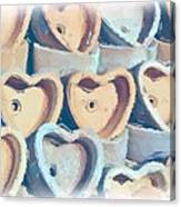 Hearts A Plenty Canvas Print