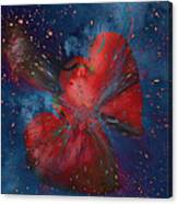 Hearts In Space Canvas Print