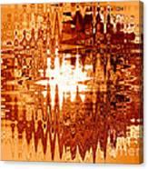 Heat Wave - Abstract Art Canvas Print