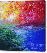 Heaven in Flames Canvas Print