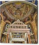 Heavenly Altar Canvas Print