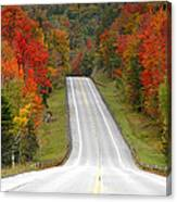Heavens Highway Canvas Print
