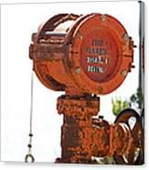 Heavy Duty Mailbox Canvas Print