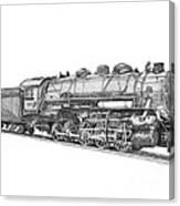 Heavy Steam Switcher 0-10-0 Canvas Print