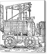 Hedley's Puffing Billy, 1813 Canvas Print