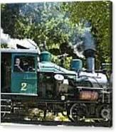 Heisler Steaming Canvas Print