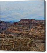 Helicopter View Of The Grand Canyon Canvas Print