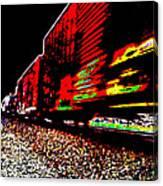 Hellbound Train Canvas Print