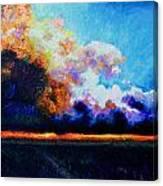 Hello Darkness My Old Friend Canvas Print