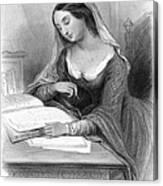 Heloise (c1101-c1163) Canvas Print