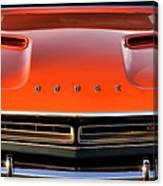 Hemi Orange 1971 Dodge Challenger Canvas Print