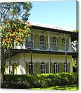 Hemingway's House Canvas Print
