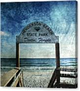 Henderson Beach State Park Florida Canvas Print