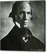 Henry Clay Sr., American Politician Canvas Print