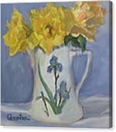 Henry Fonda Roses Canvas Print