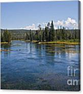 Henry Fork Of The Snake River Canvas Print