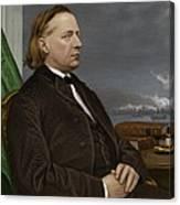 Henry Ward Beecher, Us Social Reformer Canvas Print