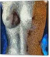 Her Figure 3 Canvas Print