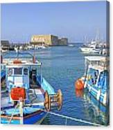 Heraklion - Venetian Fortress - Crete Canvas Print